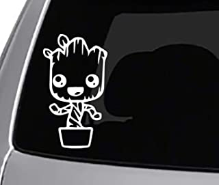 Seek Racing Baby Groot Decal CAR Truck Window Sticker Guardians of The Galaxy