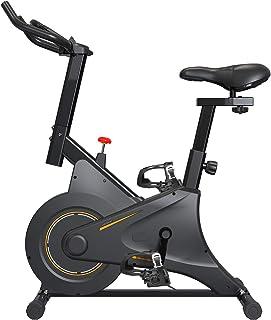 2021第三代スピンバイク マグネット式 フィットネスバイク ダイエット器具 フルカバーホイール エアロビクスバイク 無段階負荷調節 無音 組み立て簡単 トレーニングマシン エクササイズマシン 日本語取扱説明書…