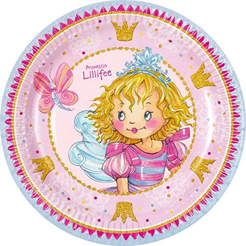 Spiegelburg 13628 Partyteller Prinzessin Lillifee 'Ich bin Prinz.!' (8 Stück)