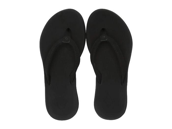 Ho'opio  Shoes (Toddler/Little Kid/Big Kid) (Black/Black) Girls Shoes
