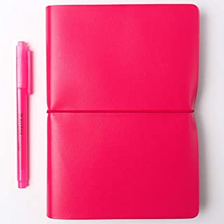 Undated Grande Story Diary with AHZOA H1 Highlighter (Cherry)