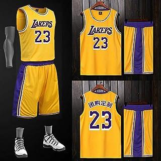 13590c24030f6 LAFE NBA Basket Maillots James Lakers Maillot 23, Costume de Ballon de  Match imprimé personnalisé