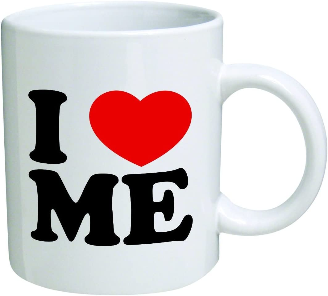 Lustige Tassen Sprüche I love me Kaffeetasse