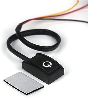 Ytian DC 12V 200mA Mini Schalter ON/Off DIY Schalter für Nachrüsten Universal Druckschalter EIN/Aus Schalter