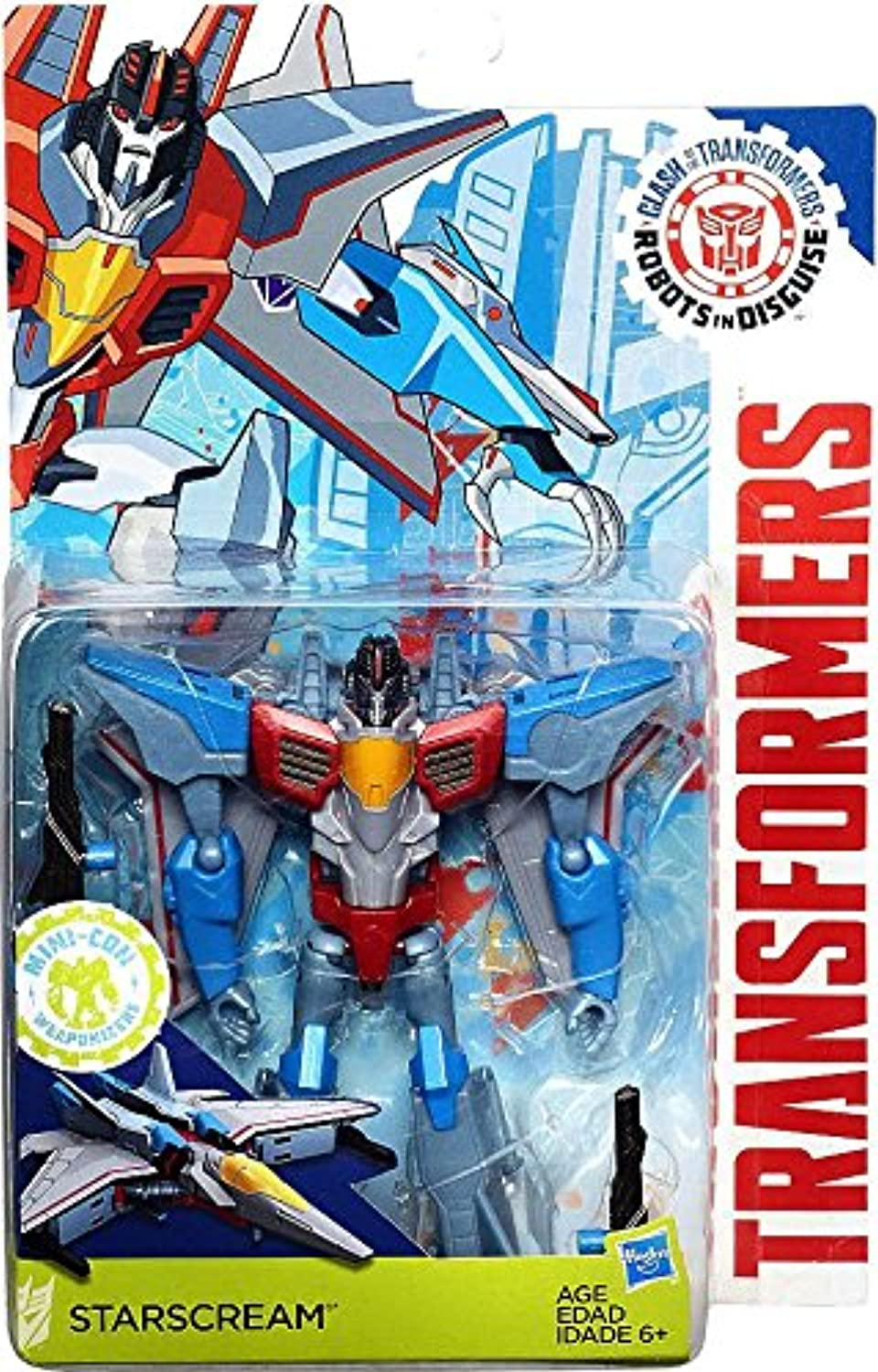 Transformers  Robots in Disguise Clash of the Transformers estrellascream Exclusive cifra by Transformers