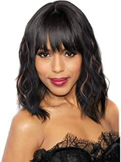 Best wet and wavy wigs with bangs Reviews