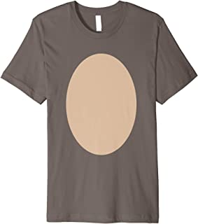 Halloween Deer Belly Costume Shirt Fawn Moose Easy Costume Premium T-Shirt