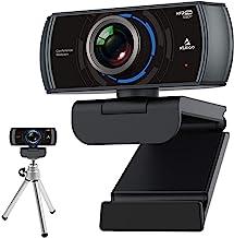 1080P 60FPS Webcam with Mini Tripod Kits, NexiGo FHD USB Web Camera with Dual Microphone & Privacy Cover, Extendable Tripo...
