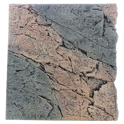 Back to Nature Basalt/Gneiss 60 Slimline Rückwand H: 55 cm Größe Modul 60B (B50xH55cm)