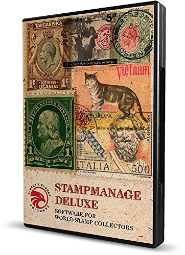 Stamp Collecting Software - StampManage Deluxe With SCOTT Catalog Numbers. Inventory & Value Your World Stamp Collection.