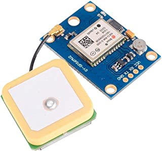 UG LAND INDIA 6m GPS module with EEPROM for MWC/Aero Quad with antenna for flight control aircraft (Multicolour)