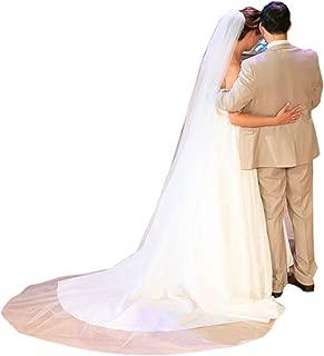 Wedding Veil Cathedral Bridal Veils Long for Bride