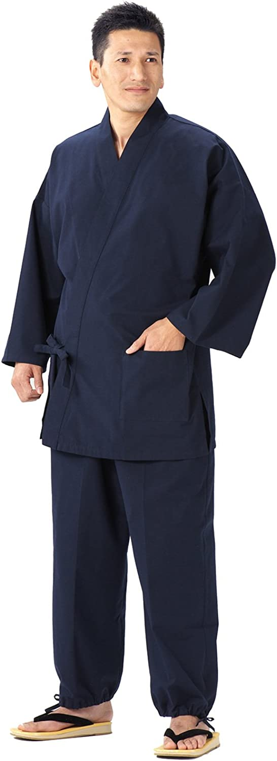 WATANOSATO Samue Kurume Japanese Clothes Size (This is something you can wear at home & Work clothes)