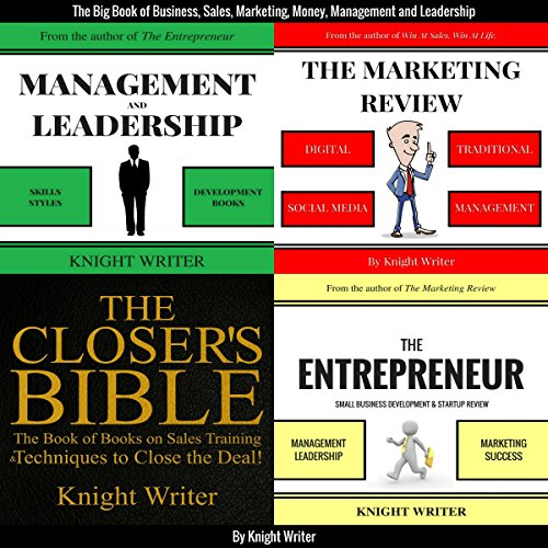 The Big Book of Business, Sales, Marketing, Money, Management and Leadership cover art