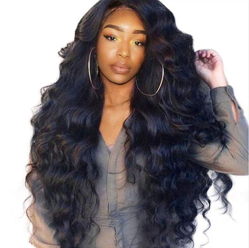 辞書滅びる塩辛い女性ブラジルレースフロントかつら人間の髪の毛赤ちゃん髪ブラジル実体波髪レースかつら150%密度