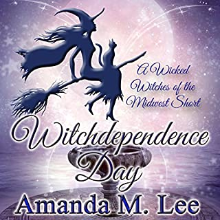 Witchdependence Day audiobook cover art