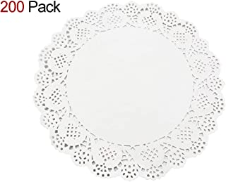 Home Decision HOMEDECISION Lace Paper Doilies 8.5-inch 200pcs