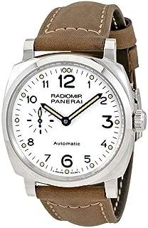 Panerai Radiomir 1940 White Dial Automatic Mens Watch PAM00655