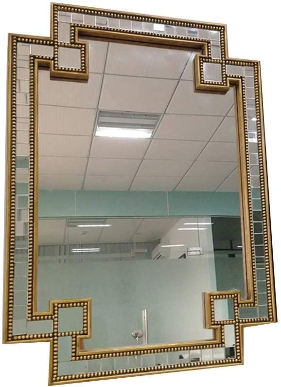 HONYGE LXGANG Home Fixed price for Minneapolis Mall sale Wall Classical Decorati Mirror Silver