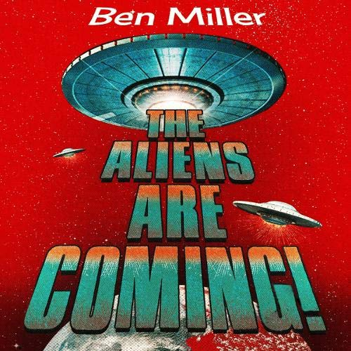 『The Aliens Are Coming!』のカバーアート