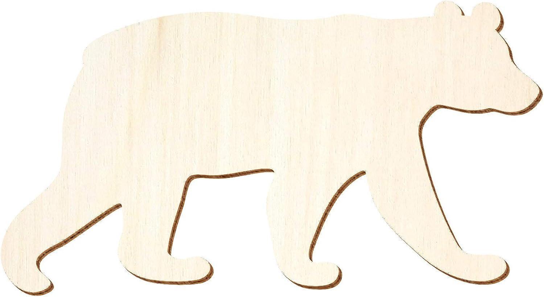 Holz Bär, Braunbär - 3-50cm Breite - Basteln Deko, Pack Pack Pack mit 50 Stück, Größe 38cm B07Q2H9KDQ  | Elegante Form  1e1d9d