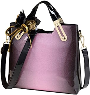 Color : Black, Size : 13 in AODEK Mens Backpack Handbag Business Bag Leather Fashion Youth Shoulder Messenger Bag Black 13