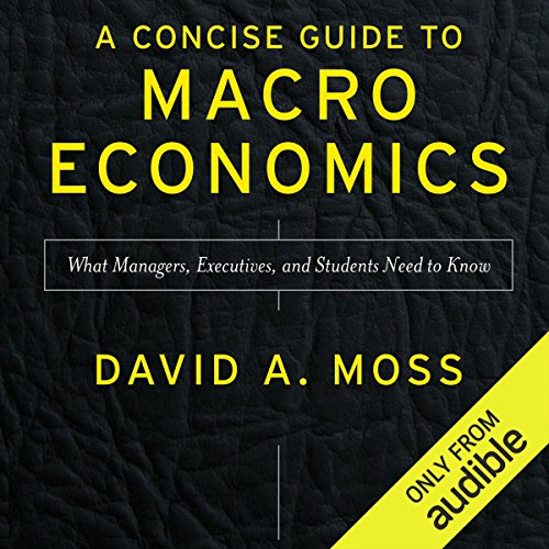 A Concise Guide to Macroeconomics, Second Edition audiobook cover art