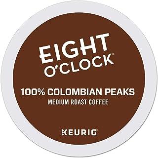 Eight O`Clock Coffee Colombian Peaks, Single-Serve Keurig K-Cup Pods, Medium Roast Coffee, 96 Count