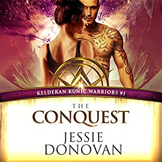 The Conquest     Kelderan Runic Warriors, Book 1              By:                                                                                                                                 Jessie Donovan                               Narrated by:                                                                                                                                 Emma Wilder,                                                                                        Jeffrey Kafer                      Length: 7 hrs and 49 mins     120 ratings     Overall 4.5
