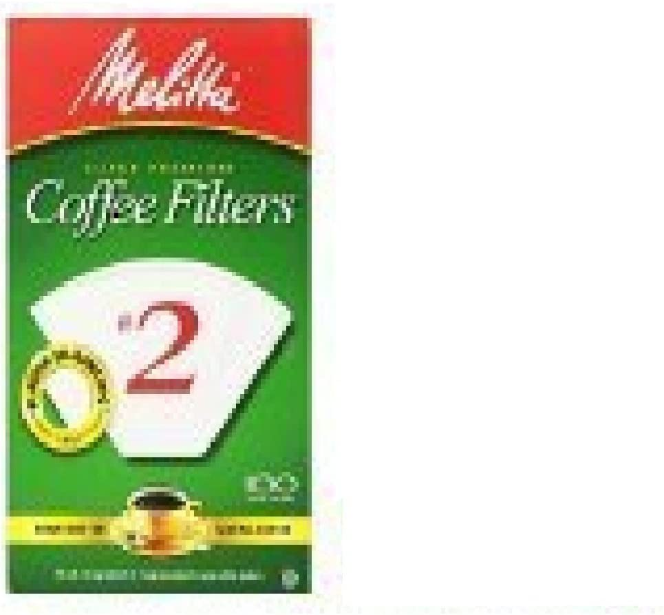Melitta 622712 #2 White Cone Filters 70% OFF Outlet 100 Attention brand Count Coffee