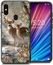 for Umidigi F1 Case, Umidigi F1 Play Case, ABLOOMBOX Shockproof Slim Thin Soft Flexible TPU Silicone Protective Cover for Umidigi F1/F1 Play Hunting Camo Camouflage Deer in forest