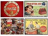 Set 4 Tovagliette plastificate Coca cola vintage (2° versione)