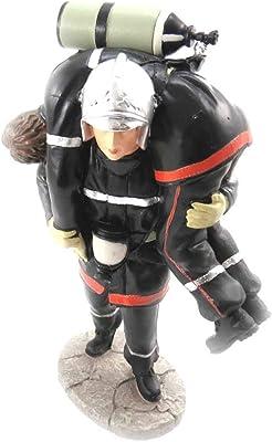 Estatuilla Pompiers (rescatar a su colega).: Amazon.es: Hogar