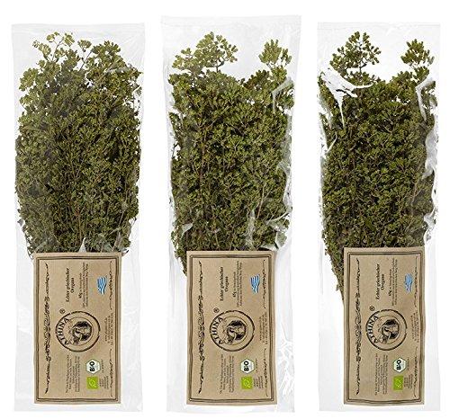 Oregano Bio Premium getrocknet aus Griechenland 65 gr Strauch 3er Pack 3 x 65 g (195 GR)