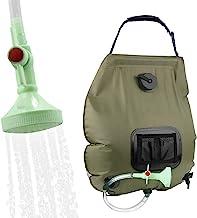 KIPIDA Solar Shower Bag,5 gallons/20L Solar Heating...