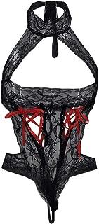 Sexy Lingerie Bow Sling Lace Nightwear Sleepwear Bodysuit Suspender Temptation Underwear