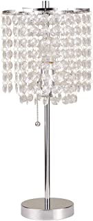 Ore International 8315C Deco Glam Table Lamp, 20.25