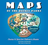 Maps of the Disney Parks - Charting 60 Years from California to Shanghai de Vanessa Hunt