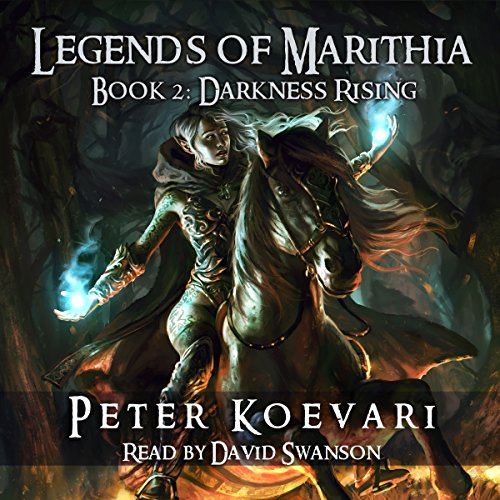 Legends of Marithia, Book 2 audiobook cover art