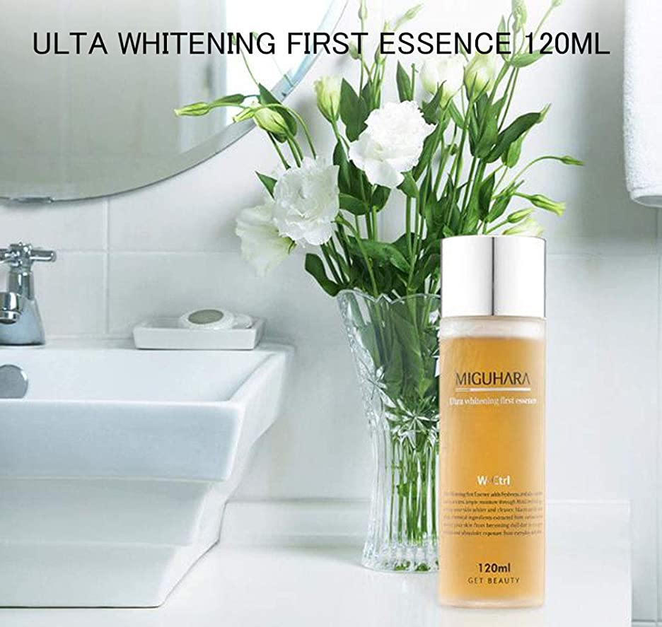 並外れたトンドラムMIGUHARA Ultra Whitening First Essence 120ml/ウルトラホワイトニングファーストエッセンス
