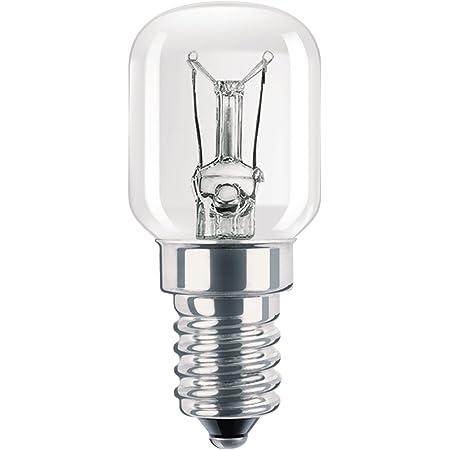 Philips 924197744452 Ampoule Incandescence Tube spécial - Culot E14 - 15 Watts consommés - Equivalence incandescence : 15W LOT DE 2