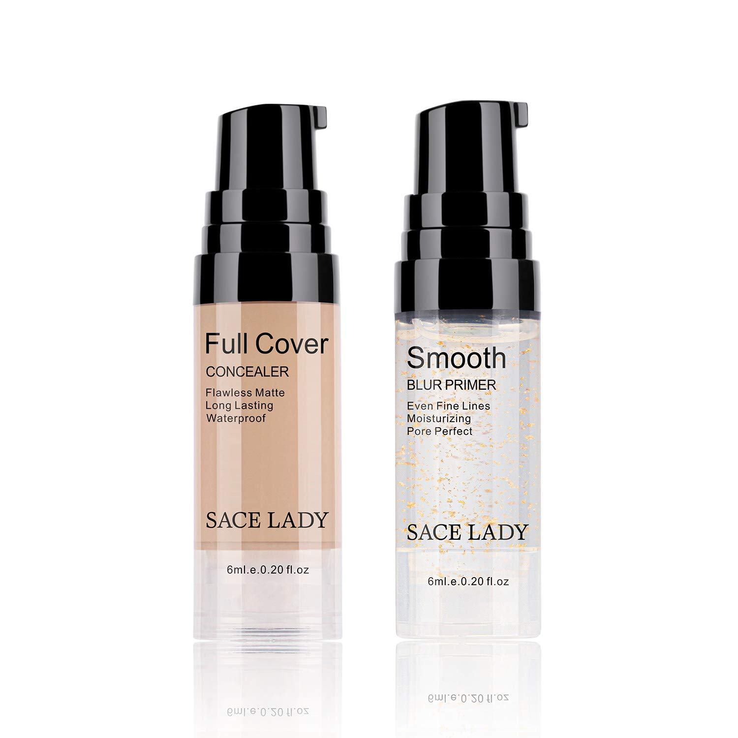 Full Coverage Concealer with Primer Smoot Sale special price Set Low price Makeup Waterproof