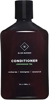 Blind Barber Lemongrass Tea Conditioner - Sulfate & Paraben Free Nutrient-Rich Conditioner for Men with Coconut Oil, All Hair Types (12oz / 350ml)