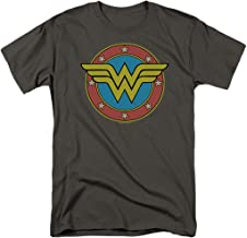 Wonder Woman Vintage Logo DC Comics T Shirt & Stickers