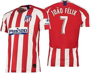Atletico Madrid Home Jersey Joao Felix #7 Men's Soccer Shirt