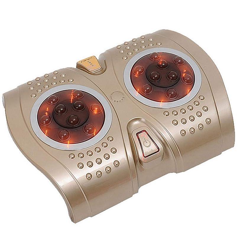 能力鍔管理調整可能 家のための足360°の回転式マッサージの経験のための電気フィートのマッサージャー18のバンプマッサージの頭部 リラックス, Gold