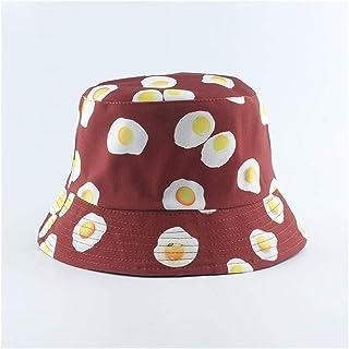 mimiliy القبعات دلو للجنسين طباعة دلو قبعة عكسها شاطئ الشمس قبعة الشارع الشهير الصياد قبعة في بوب كاب الرجال امرأة قبعة