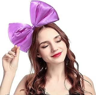 BUYITNOW Women Huge Bow Headband Cute Bowknot Hair Hoop for Halloween Cosplay