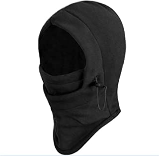 Generic Winter Unisex Outdoor Thermal Fleece Balaclava Hood and Stopper Face Mask (Grey)