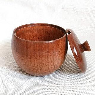 Pour la cuisine Rangement et organisation Jar bois Creative Vintage Spice cuisine, Type: salière